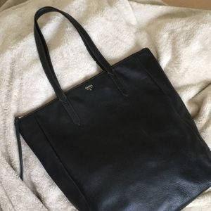 FOSSIL leather carryall bag